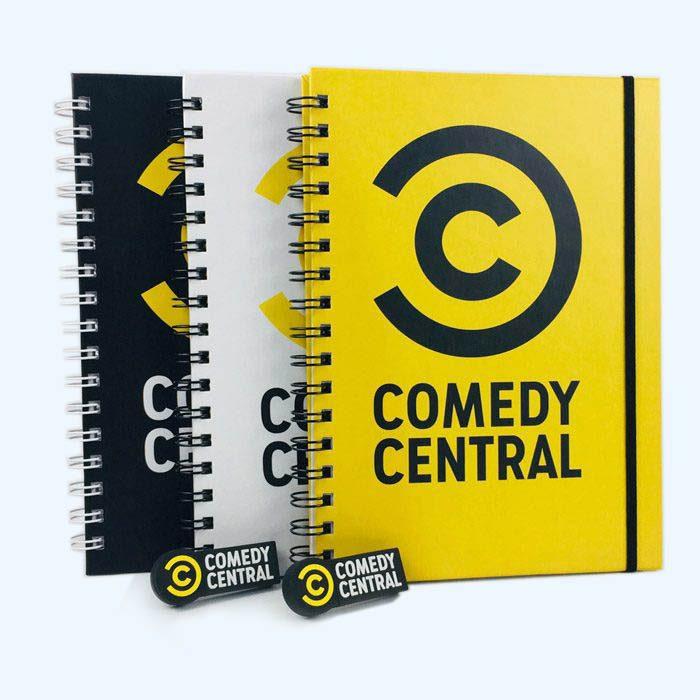Libretas y USB de Comedy Central
